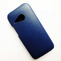 Кожаный чехол Melkco Leather Case Dark Blue LC для HTC One M8 mini 2(#3)