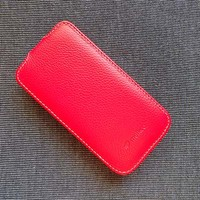 Кожаный чехол Melkco Leather Case Red LC для Samsung i9190 Galaxy S4 mini