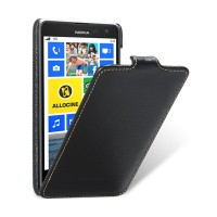 Кожаный чехол Melkco Leather Case Black LC для Nokia Lumia 625