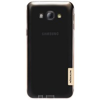 Силиконовый чехол Nillkin Nature TPU Case Brown для Samsung Galaxy A8