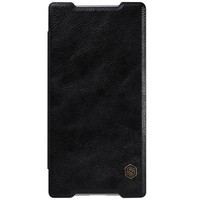Кожаный чехол Nillkin Qin Leather Case Black для Sony Xperia Z5