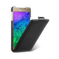 Кожаный чехол Melkco Leather Case Black LC для Samsung G850 Galaxy Alpha