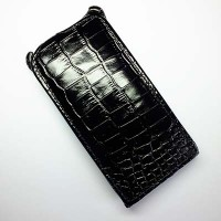 Кожаный чехол Abilita Leather Case Black Crocodile для Huawei Ascend G6