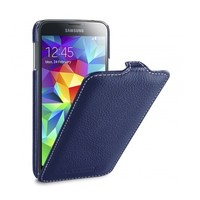 Кожаный чехол Melkco Leather Case Dark Blue LC для Samsung G900F Galaxy S5