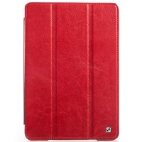 Кожаный чехол HOCO Crystal leather Case Red для Apple iPad mini 3