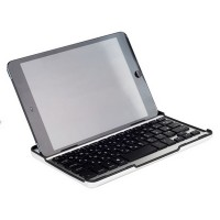 Клавиатура с русскими буквами Mobile Bluetooth Keyboard White для Apple iPad mini