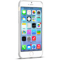 Пластиковый чехол HOCO Steel Double Series White для Apple iPhone 6/6S(#2)