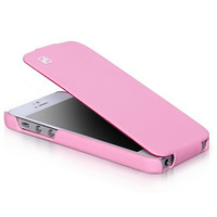 Кожаный чехол HOCO Duke leather case Pink для Apple iPhone 5/5S/5SE