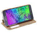 Полиуретановый чехол Usams Merry Series Gold для Samsung G800F Galaxy S5 mini(#3)