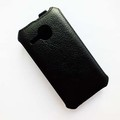Кожаный чехол Armor Case Black для Alcatel One Touch M POP 5020D(#3)