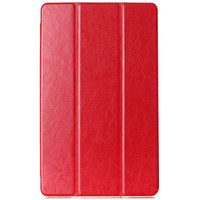 Полиуретановый чехол Book Cover Case Red для Sony Xperia Tablet Z3 Compact