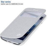 Полиуретановый чехол HOCO Star Series Case White для Samsung i9190 Galaxy S4 mini