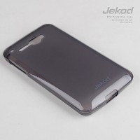 Силиконовый чехол Jekod TPU Case Black для Alcatel One Touch Idol 6030X