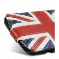 Кожаный чехол Melkco Premium Case The Nations Britain для Samsung i9500 Galaxy S4(#4)
