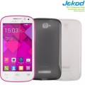 Силиконовый чехол Jekod TPU Case White для Alcatel One Touch POP C7 7040D(#3)