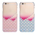 Пластиковый чехол X-Fitted Crystal Hardness Hearts Blue для Apple iPhone 6/6S(#2)