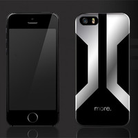 Пластиковый чехол More Metallic Series Mercury для Apple iPhone 5/5S/5SE