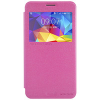 Полиуретановый чехол Nillkin Sparkle Leather Case Red  для Samsung G750F Galaxy Mega 2