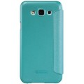 Полиуретановый чехол Nillkin Sparkle Leather Case Blue для Samsung Galaxy E5(#2)