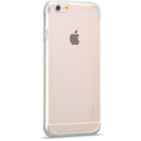 Пластиковый чехол HOCO Steel Double Series White для Apple iPhone 6/6S