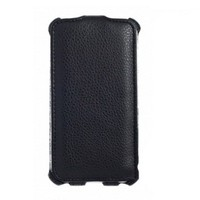 Чехол книга Armor Case Black для Lenovo Vibe C2 Power Black (K10a40)