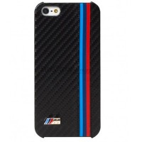 Пластиковый чехол BMW Carbon M-Collection (BMHCP5MC) для Apple iPhone 5/5S/5SE