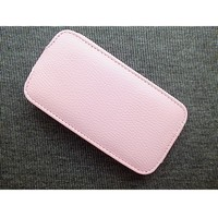 Кожаный чехол Up Case Pink для Samsung i8160 Galaxy Ace 2