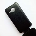 Кожаный чехол Armor Case Black для Alcatel One Touch M POP 5020D(#4)