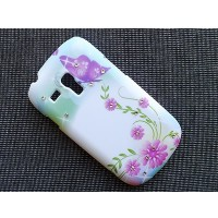 Пластиковый чехол Dreams Butterfly Purple для Samsung i8190 Galaxy S3 mini