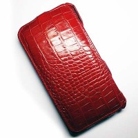 Кожаный чехол Abilita Leather Case Red Crocodile для Nokia Lumia 1320