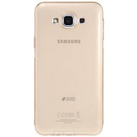 Силиконовый чехол Nillkin Nature TPU Case Brown для Samsung Galaxy E7