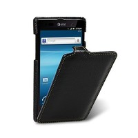 Кожаный чехол книга Melkco Leather Case Black LC для Sony Xperia Ion LT28h