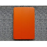 Кожаный чехол Jisoncase Smart Leather Orange для Apple iPad mini