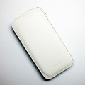 Кожаный чехол Melkco Leather Case White LC для HTC Desire 500 Dual(#1)