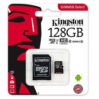 Карта памяти Kingston Canvas Select Micro SDXC UHS-1 128Gb