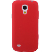 Силиконовый чехол TPU Jimy Case Red для Samsung i9190 Galaxy S4 mini