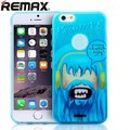 Силиконовый чехол Remax Primitive Case Blue для Apple iPhone 6/6S(#1)
