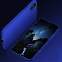 Чехол силиконовый HOCO PHANTOM SERIES PROTECTIVE BLUE для Apple iPhone X/ iPhone XS