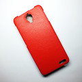 Кожаный чехол Armor Case Red для Alcatel One Touch Idol X 6040(#2)