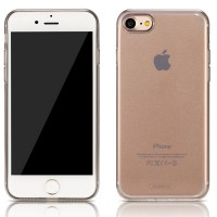 Силиконовый бампер Remax Crystal Tpu Case Grey для Apple iPhone 7/iPhone 8