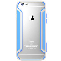 Пластиковый бампер Nillkin Armor-Border series Blue  для Apple iPhone 6/6S