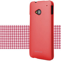 Пластиковый чехол Baseus Plastic Hard Back Case Red для HTC One M7