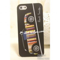 Пластиковый чехол Hardshell Case Paul Smith Black для Apple iPhone 5/5S/5SE