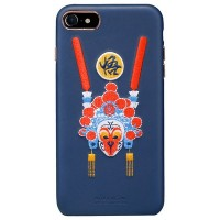 Кожаная накладка Nillkin Brocade Series Blue Monkey King для Apple iPhone 7/iPhone 8