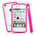 Бампер SGP Neo Hybrid 2S Pastel Series Pink для Apple iPhone 4/4S(#1)