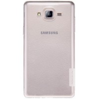 Силиконовый чехол Nillkin Nature TPU Case White для Samsung Galaxy On7