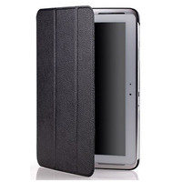 Кожаный чехол Yoobao iSlim Leather Case Black для Samsung Galaxy Note 10.1 N8000