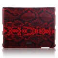 Кожаный чехол More Safara Classic Lx (Python / Red) для Apple iPad 4/3/2(#1)