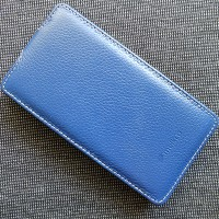 Кожаный чехол Melkco Leather Case Dark Blue LC для Sony Xperia SP M35i