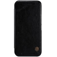 Кожаный чехол Nillkin Qin Leather Case Black для HTC One M9